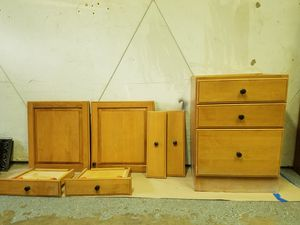 Drawer cabinet, doors,drawer covers for Sale in St. Louis, MO