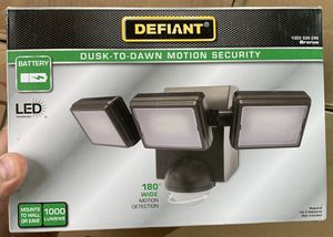 Security Flood Light motion activated for Sale in Dallas, TX