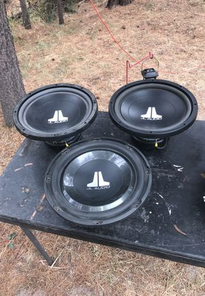 """3 jl audio 12"""" subs. Need work. for Sale in Bend, OR"""