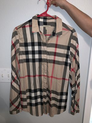 Burberry Women Long Sleeve M ! AUTHENTIC-$100 for Sale in Kissimmee, FL