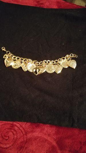 Gold charm bracelet for Sale in Salt Lake City, UT