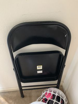 Metal Folding Chair for Sale in Conyers, GA