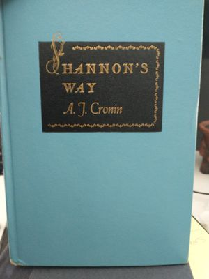 Shannon's way by AJ Cronin original 1984 April 1st edition for Sale in Glen Ellyn, IL