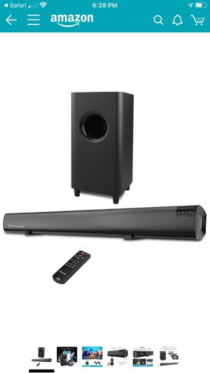 Wohome blue booth speaker and subwoofer for Sale in Bakersfield, CA