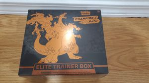 Pokemon Cards Sealed Champion's Path Elite Trainer Box with Charizard promo for Sale in Culver City, CA