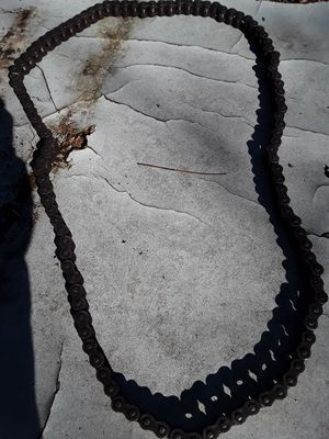 Gold motorcycle chain 530 oring for Sale in Hamilton, MS