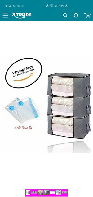 Large Storage bags available on Amazon for Sale in Euless, TX