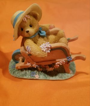 "Cherishes Teddies...""Jennifer Gathering Blooms of Friendship Figurine for Sale in Franklin Township, NJ"