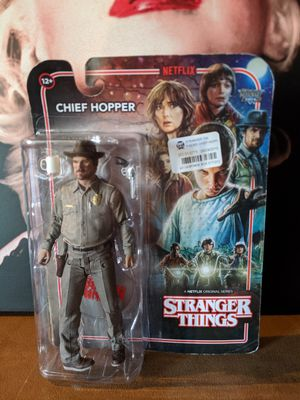 McFarlane Toys Stranger Things Chief Hopper Action Figure for Sale in Montclair, CA