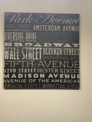 Wall Decor-NY Streets for Sale in Tampa, FL