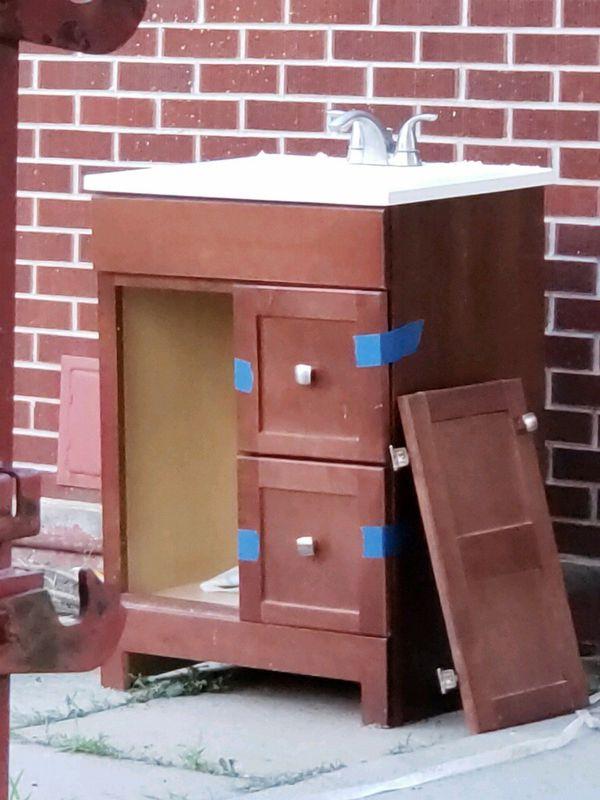 Bathroom vanity/medicine cabinet for Sale in Denver, CO ...