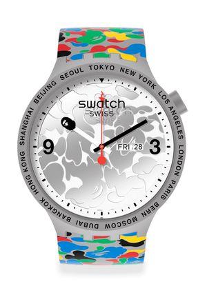 Swatch X Bape Tokyo Gray Multi Camo for Sale in Orlando, FL