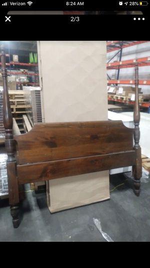 Antique wooden headboard- QUEEN for Sale in San Diego, CA