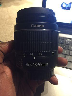 Canon 18-55mm lens for Sale in Overland Park, KS