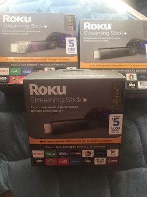 3 ROKU Sticks (All Together) for Sale in Austin, TX