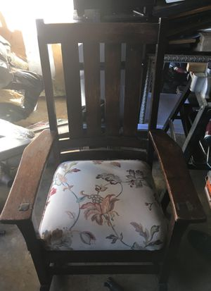 20th century Stickley Antique rocking chair for Sale in Fort Washington, MD