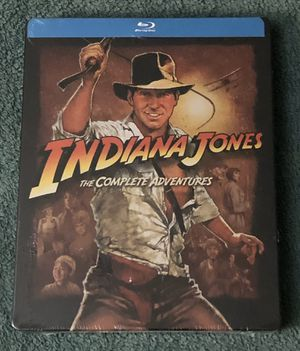 INDIANA JONES THE COMPLETE ADVENTURES BLU-RAY SEALED for Sale in Countryside, IL