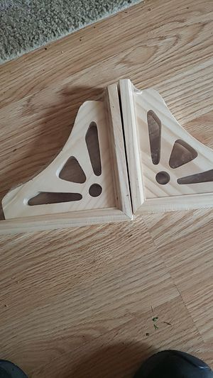 Shelf brackets 7x7 for Sale in Curtis, MI