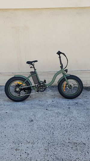 "NEW Electric Bicycle ""TJC"" MossChaos for Sale in San Diego, CA"