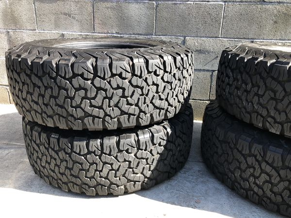 "17"" Tires Only (4 available) BFGoodrich All-Terrain T/A KO2 Tires LT285/70R17/E 121/118R"