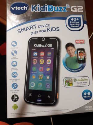 Vtech kidibuzz G2 smart device just for kids for Sale in Carencro, LA