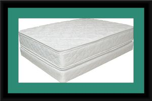 King double pillowtop mattress with box spring for Sale in Fairfax, VA