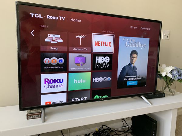 TCL 50 inch 4K Smart LED Roku TV