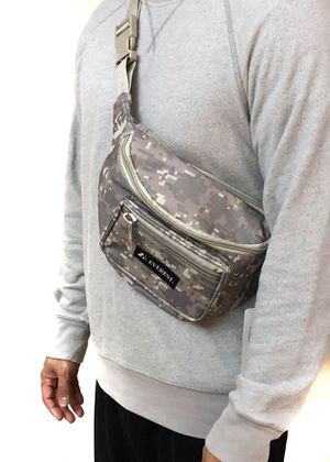 NEW! Large Digital Camouflage shoulder / Waist Pack not supreme Waist bag Shoulder bag travel bag fanny pack Concert music festival side bag edc pouch for Sale in Long Beach, CA