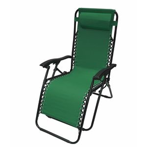 FLCH-GR Outdoor Patio Foldable Chaise-Longue Leisure Pool Beach Chair, Green Color for Sale in Kent, WA