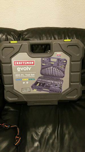 """Brand New Craftsman """" 200 """" pieces tool set for Sale in Cerritos, CA"""