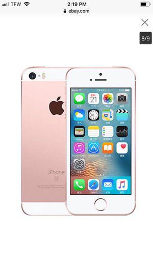 iPhone SE 64g for Sale in Parkersburg, WV