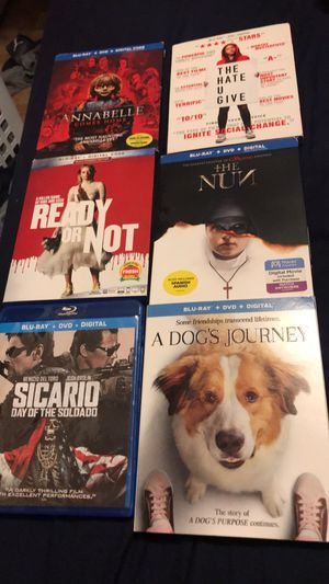 4K / blue ray movies for Sale in Los Angeles, CA
