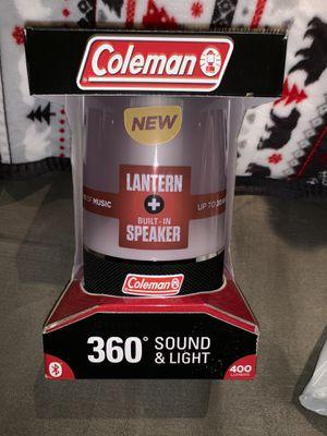 Coleman lantern speaker for Sale in Locust Gap, PA