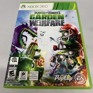 Plants Vs Zombies Garden Warfare For Xbox 360 No Manual Video Game for Sale in Camp Hill, PA