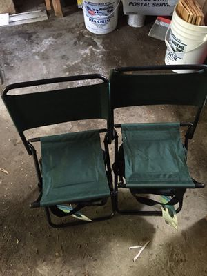 Camping chairs with coolers for Sale in Methuen, MA