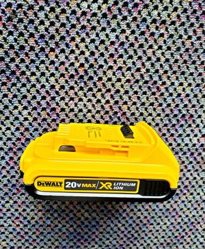 DEWALT 20v max XR lithium ion battery like new ((ask $29 for Sale in Pomona, CA
