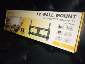 "TV WALL MOUNT - TV STAND - Tilt TV mount. BRAND NEW . Hold 37"" to 70"" flat TV screens . 3 AVAILABLE -...SMART TV LED TV .TV for Sale in Bloomington, CA"