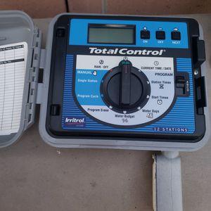 Irritrol 12 stations sprinklers timer for Sale in Montclair, CA