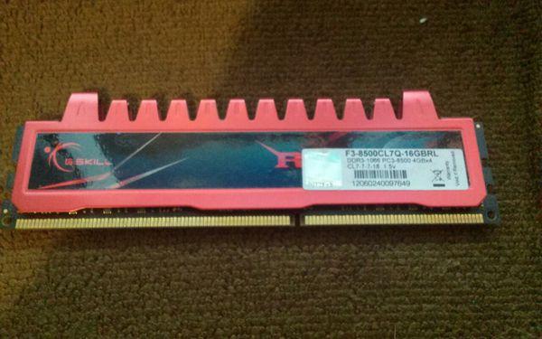G.Skill 16 GB Ram
