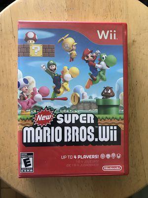 Super Mario Bros Wii & Mario Party 8 BUNDLE for Sale in Queens, NY