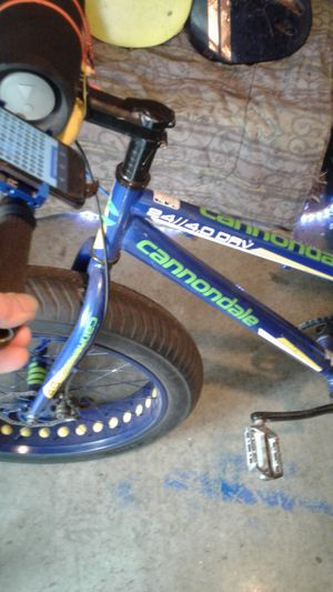 Cannondale 24inch fat tire bike rides like 26 for Sale in Portland, OR