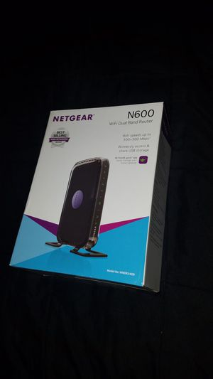 Netgear N600 Router for Sale in Tampa, FL