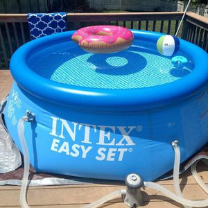 INTEX EASY SET POOL 8ft x 30in NEW for Sale in Rosemead, CA