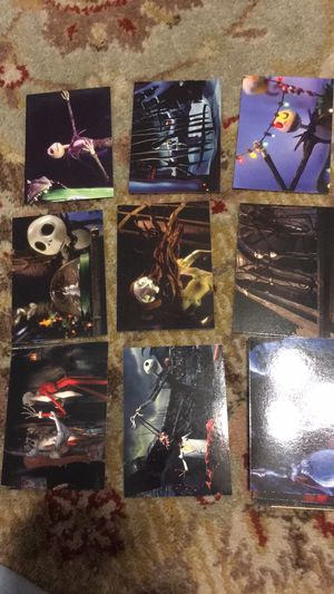 Nightmare before Christmas neca trading cards for Sale in San Antonio, TX