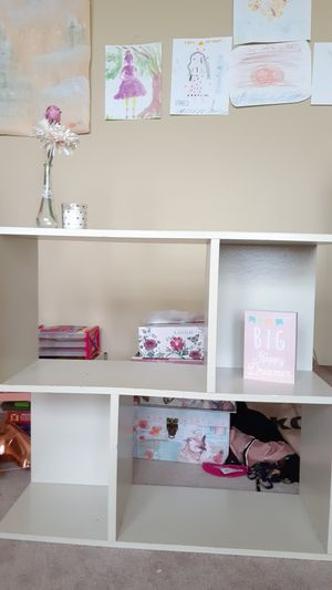 White bookcase / storage for Sale in Lynnfield, MA