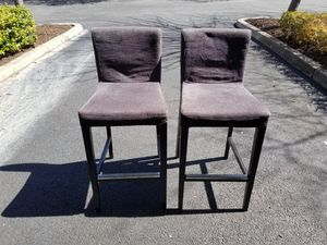 Barstool with Backrest IKEA for Sale in Rockville, MD