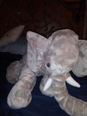 Elephant child pillow or toy for Sale in Bay St. Louis, MS