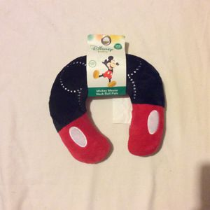 Mickey Mouse Neck Roll Pillow for Sale in Cairo, GA