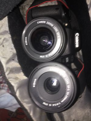 Canon lenses STM 18-55, 55-250mm for Sale in Alexandria, VA
