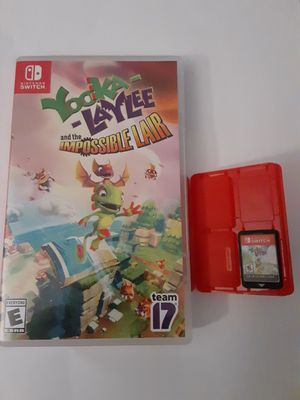 Yooka-Laylee Video Game Bundle For Nintendo Switch BOTH Games for Sale in Braintree, MA